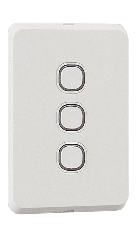 Smart control mechanisms fitted into switch wall plate