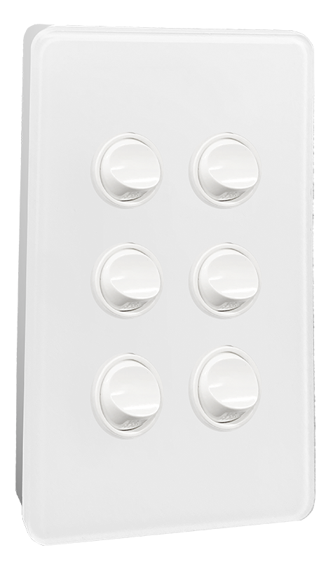 240v complementing wall switch product Hesperus Series