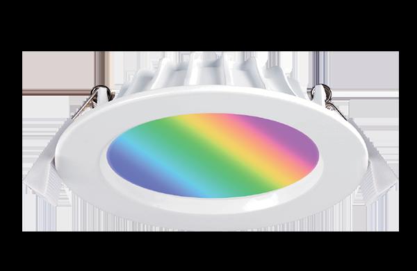 RGB TW smart control downlight
