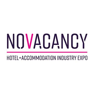 Sydney Hoteliers Exhibition Trade Show Logo NoVacancy