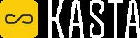 Logo KASTA - RGB White